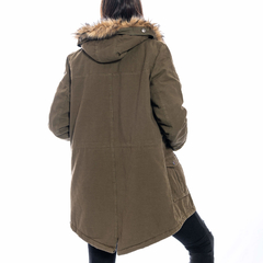 Nicole Long Jacket Olive en internet