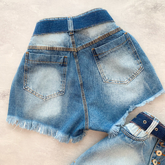 Short Botton Denim na internet
