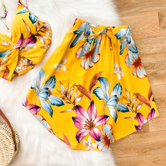 Conjunto Tropical Amarelo na internet