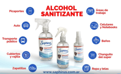 Alcohol Sanitizante | 60 ml Saphirus - d1atupuerta