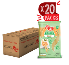 Grisines Light Riera 20 Packs x160g ($70.87 x Unidad)