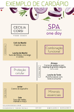 Linha One Day - Spa na internet