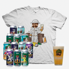 Pack x 12 Latas 473ml + Remera + Vaso Búlgaro