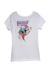 Remera Dama - DC Justice League of America
