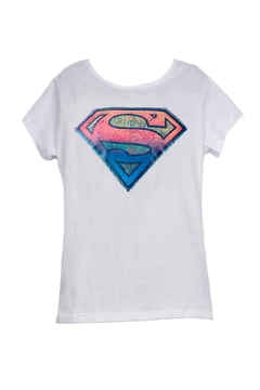 Remera Dama - DC Superman logo MC