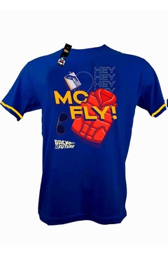 Remera Unisex - Back to the Future MC Fly