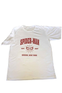 Remera Unisex - Marvel Spider-Man Queens New York