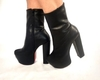 BOTA SELLY  SALTO GROSSO PRETO 1310373 P