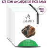 Kit 10 caixas de Figo Ramy Amatto 200g
