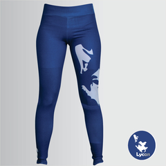 Legging Lycan  Azul - Com Short Interno