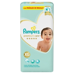 Pampers Premium Care XG x 58 unidades