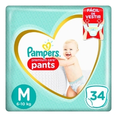 Pampers Pants Premium Care M x 34 unidades