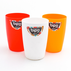 VASO ALTO PLASTICO COLOR