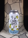 Hard Seltzer Ananá y Jengibre -  Clash Water  - Lata 473 ml