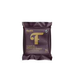 ALFAJOR DE FRUTOS DEL BOSQUE C CHOCO FRANK