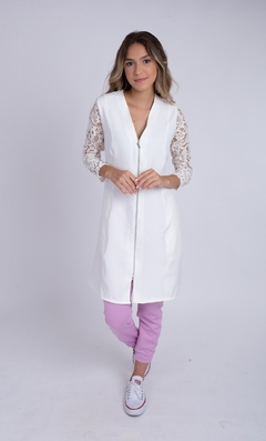 Jaleco Lace Feminino - Off-white - comprar online