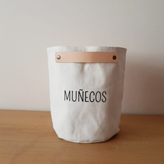 "Contenedor ""Muñecos"" Medium"