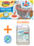 Combo Mopa Iberia TurboMatic + Flash Blanco Antibacterial 5L