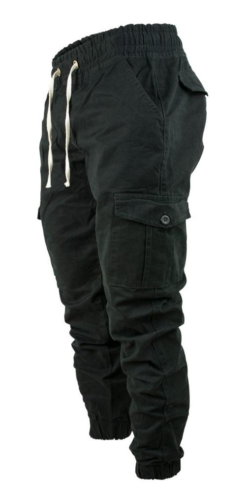 Pantalon Cargo Jogger Gabardina Cintura Y Puno Elasticos Alexander Market