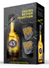 Kit Licor 43  + 2 Mini Canecas Acrílico