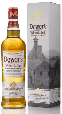 Whisky Dewar´s White Label - 750ml- Escócia - comprar online