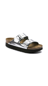 Arizona Platform NL Metallic Silver
