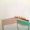 Kit Blocos: Planner mensal e To do list - Cores - comprar online