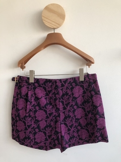 Short estampado com flores Tory Burch