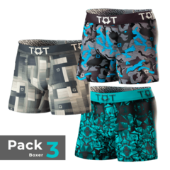 Pack x 3 boxer DEEP 1