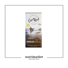 "Chocolate amargo al 73% ""Get Real"""