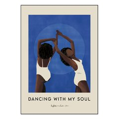 POSTER DANCING WITH MY SOUL AZUL