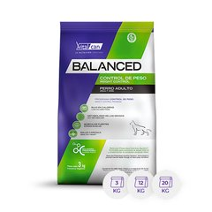 BALANCED PERRO CONTROL PESO ALL AGES X 20 KG.