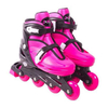 PATINS AJUSTAVEL IN LINE ROSA - TAM. G