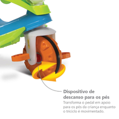 TRICICLO VELOBABY PASSEIO & PEDAL - BANDEIRANTE na internet