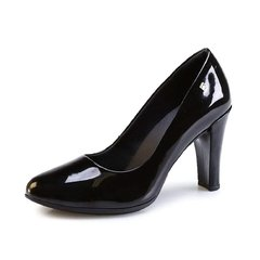 Stiletto Piccadilly charol negro 695001