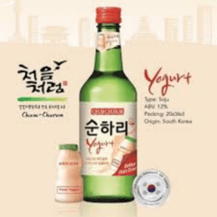 Soju Chum Churum 360ml 12% | Bebida Coreana Yogurt Lotte - comprar online