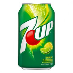 7 UP Lemon Line Flavored Soda - Refrigerante Importado