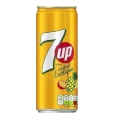 Refrigerante 7up Cocktail Exotic Seven Up Importado 1 Lata