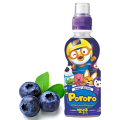 Suco Pororo Importado Coreia 226ml Blueberry (mirtilo)