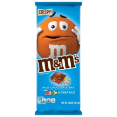 Kit 4 Barra De Chocolate Ao Leite Recheio M&m's Importada na internet