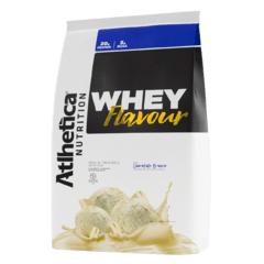 WHEY FLAVOUR (850G) - ATLHETICA NUTRITION na internet