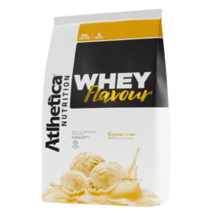 WHEY FLAVOUR (850G) - ATLHETICA NUTRITION - loja online