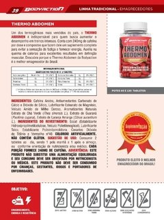 Whey Isolate Definition 900g + Thermo Abdomen na internet