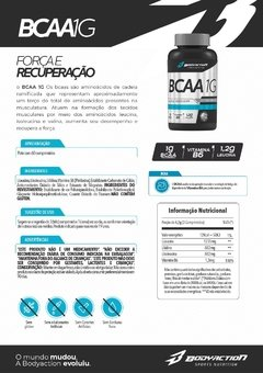 BCAA 1G - Bodyaction