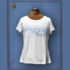Camiseta Baby Look Mar // ORIKI Design
