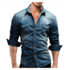 Camisa Jeans Masculina Scotch & Soda