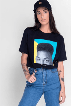 Camiseta Will Smith Fresh Prince Minimalista