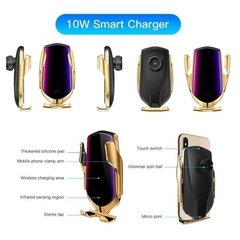 Soporte Auto Cargador Inalambrico Qi Wireless iPhone Samsung
