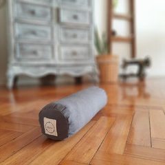 KIT pillow+bolster / tussor GRIS en internet