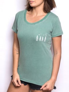 Camiseta Feminina Árvores - Up The Mountain
